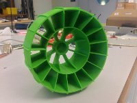 Printed rover wheel